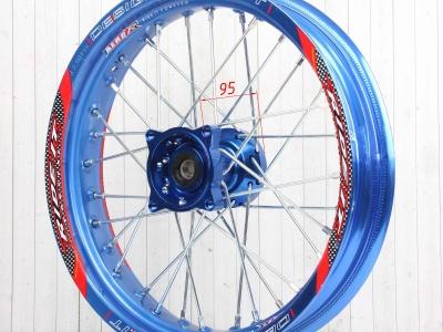 Диски в сборе SUPERMOTO RIDE IT 14 2.5/3.0 синие фото 5