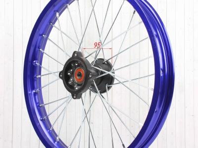 """Диск 17""""х1,6 передний  алюминий KAYO синий фото 7"""