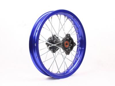 """Диск 14""""х1,85 задний диск. торм. алюминий KAYO синий фото 1"""