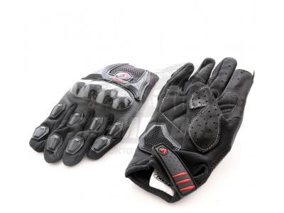Перчатки текстильные ATAKI SC-019 черные   L фото 1