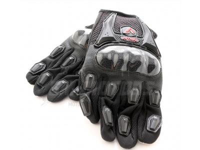 Перчатки текстильные ATAKI SC-019 черные   L фото 3