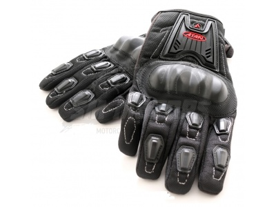 Перчатки текстильные ATAKI SC-112 черные  L фото 3