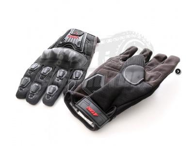 Перчатки текстильные ATAKI SC-112 черные  L фото 1