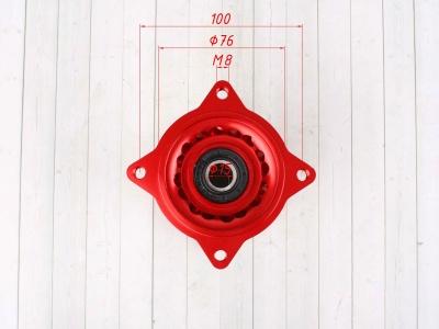 Ступица колеса задняя усиленная CNC КРАСНАЯ фото 5