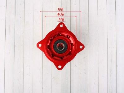 Ступицы колес CNC усиленные КРАСНЫЕ 32спицы фото 11