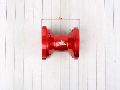 Ступицы колес CNC усиленные КРАСНЫЕ 32спицы фото 13