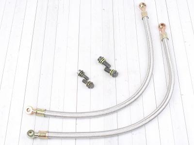 Шланги охлаждения радиатора армированные YX160 ZS155/160 500мм  8х10 фото 1