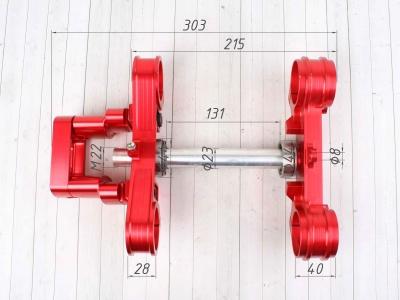 Траверса BUD Racing алюминиевая 45/48 22.2мм  фото 3