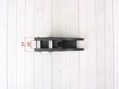 Успокоитель цепи (ловушка) для питбайка пластиковая универсальная SM-PARTS черная фото 5