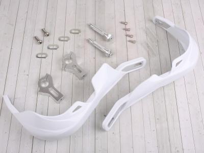 Защита рук (пара) HP03 белые армированные SM-PARTS фото 1