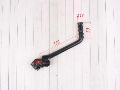 Кикстартер (лапка) кованый ПитПро 16mm черный фото 3
