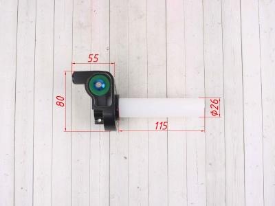 Ручка газа REPLICA зеленая фото 3