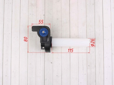 Ручка газа REPLICA синяя фото 3