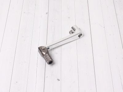 Лапка КПП CNC для моторов с электростартером серебро фото 1