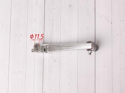 Лапка КПП CNC для моторов с электростартером серебро фото 5