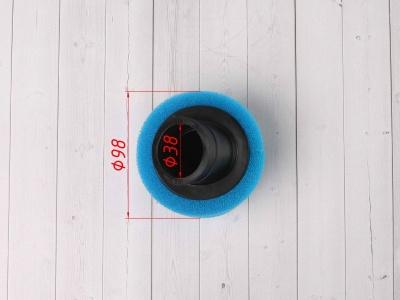 Фильтр воздушный 38мм угловой синий фото 3