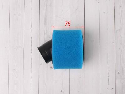 Фильтр воздушный 38мм угловой синий фото 5