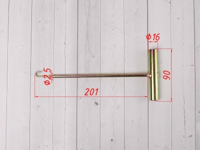 Ключ для установки пружин VENHILL фото 3