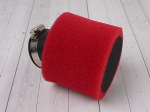 Фильтр воздушный 48мм угловой красный