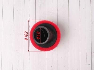 Фильтр воздушный 48мм угловой красный фото 3