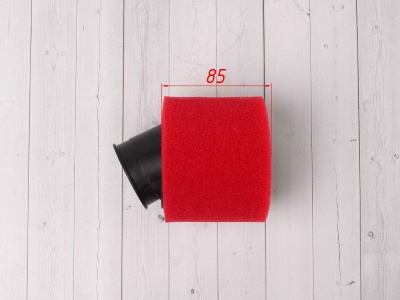 Фильтр воздушный 48мм угловой красный фото 5