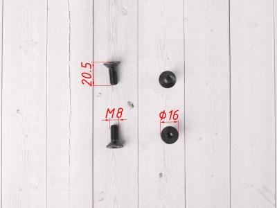 Болты крепления тормозного диска 4 шт высокопрочные (Германия) фото 3