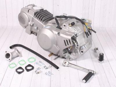 Двигатель YX 140см3 в сборе, кикстартер 1P56FMJ  (W063) фото 1
