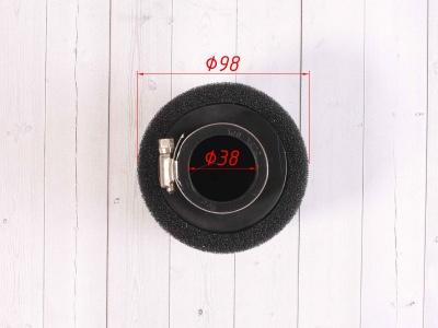 Фильтр воздушный 38мм черный фото 3