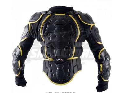 Черепаха защитная ATAKI SC-P114 черная/Hi-Viz желтая L фото 3
