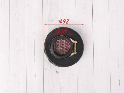 Фильтр воздушный 38мм круглый прямой фото 5