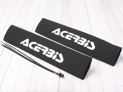 Защитные чехлы на передние амортизаторы (перья вилки) ACERBIS  белые фото 1