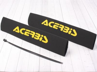 Защитные чехлы на передние амортизаторы (перья вилки) ACERBIS желтые фото 1