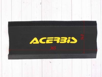 Защитные чехлы на передние амортизаторы (перья вилки) ACERBIS желтые фото 3