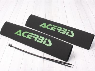 Защитный чехол перьев вилки ACERBIS зеленые фото 1