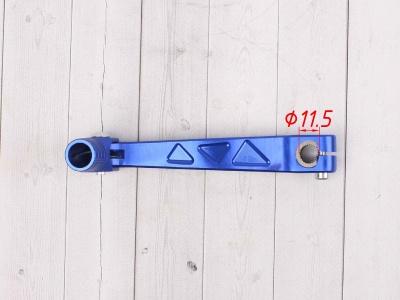 Рычаг переключения передач алюминиевый SM-PARTS синий фото 5