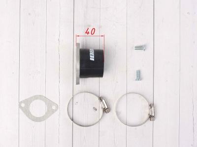 Впускной коллектор карбюратора, питбайк 125-140сс NIBBI для PE, PWK фото 7
