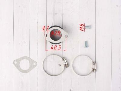 Впускной коллектор карбюратора, питбайк 125-140сс NIBBI для PE, PWK фото 9