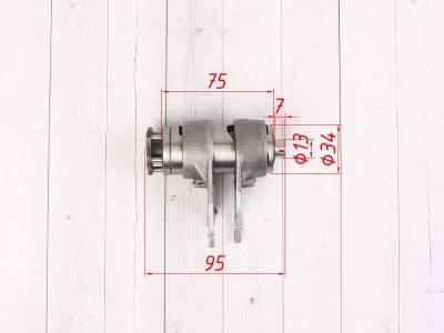 Вилки переключения передач в сборе KAYO двиг. YX140 см3 (эл.стартер) CN фото 3