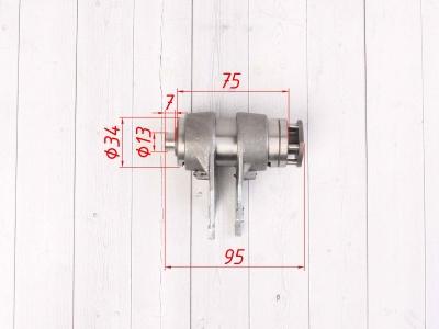 Вилки переключения передач в сборе двиг. YX125,140 см3 SM-PARTS фото 3