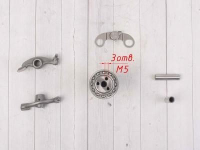 Головка цилиндра в сборе с распредвалом двиг LF120, YX140 см3 фото 17