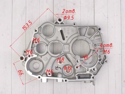 Картер двигателя правый KAYO двиг. YX140Е см3 (эл.стартер) CN фото 3
