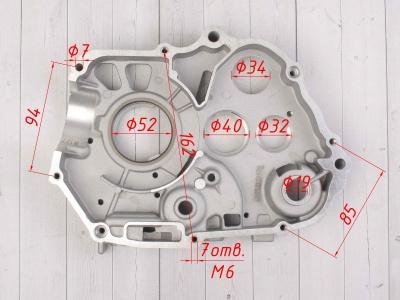 Картер двигателя правый KAYO двиг. YX140Е см3 (эл.стартер) CN фото 5