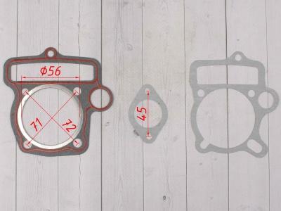 Прокладки ЦПГ (компл. 2шт.) двиг. YX140 см3 фото 3