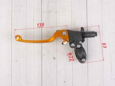Комплект рычагов ASV оранжевые фото 3