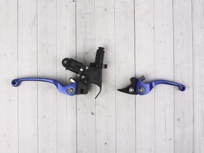 Комплект рычагов ASV синие фото 7