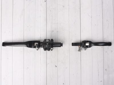 Рычаги сцепления и тормоза ASV replica черные длинные фото 9