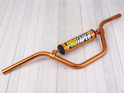 Руль PROTAPER (REPLICA) алюминиевый  высокий оранжевый фото 1