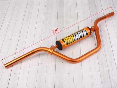Руль PROTAPER (REPLICA) алюминиевый  высокий оранжевый фото 3