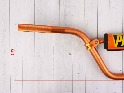 Руль PROTAPER (REPLICA) алюминиевый  высокий оранжевый фото 5