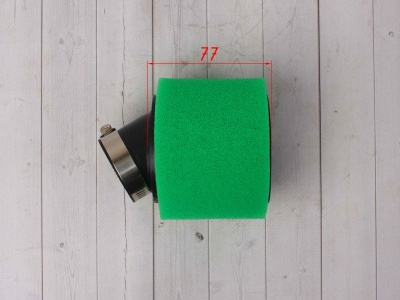 Фильтр воздушный 38мм угловой зеленый фото 3
